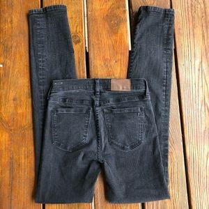 Madewell Alley Straight Jeans black Size 25 as is